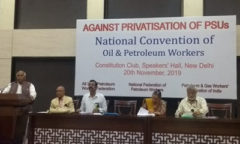 Oil workers convention