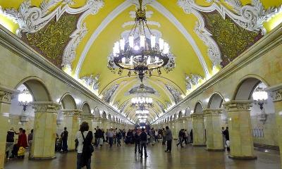 Komsomolskaya Metro Station_400